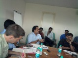 """Mr. Anoop Kumar, activist and founder of Insight Foundation, speaking at the roundtable discussion on """"Caste atrocities and missing convictions"""" at TISS, Mumbai on August 28th 2012."""